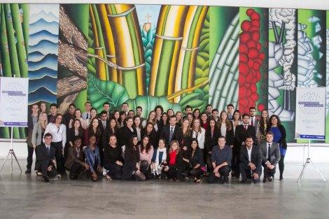 Participantes da Simulação do I Fórum Universitário de Paradiplomacia 2